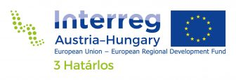Projectlogo Interreg AT-HU_3 Határlos_rgb